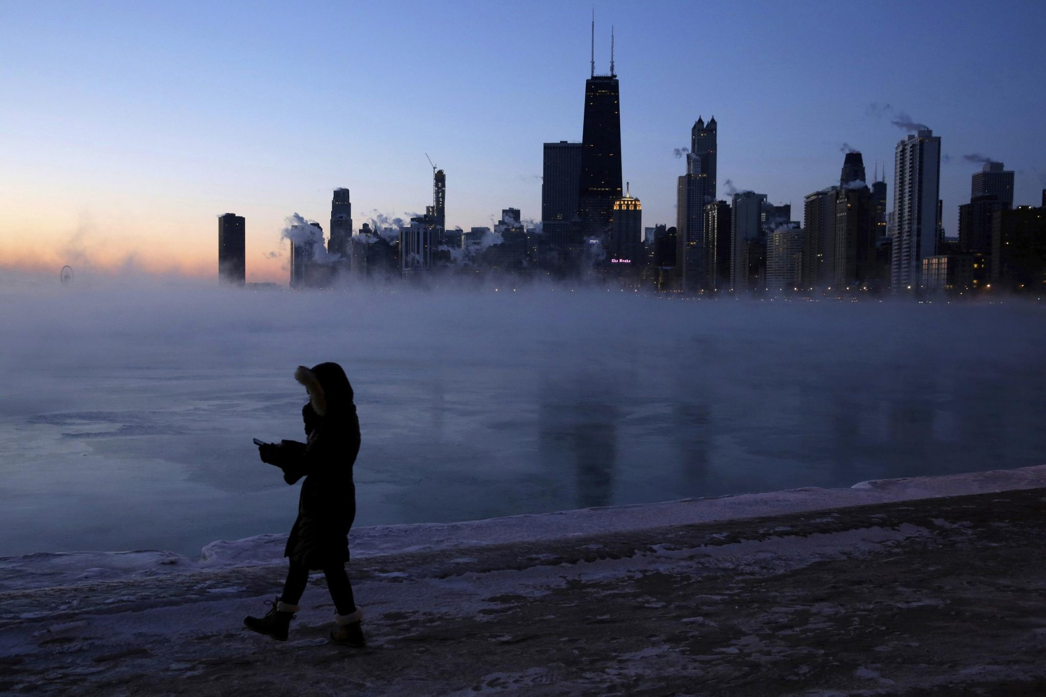 Parts Of Midwest Colder Than Antarctica During Deep Freeze
