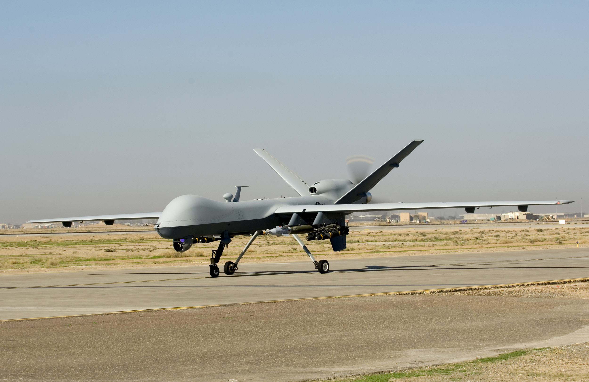 US drones make temporary move to Black Sea region