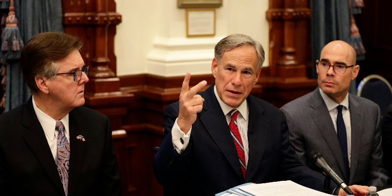 Texas Governor Expresses Concern About Private Gun Sales