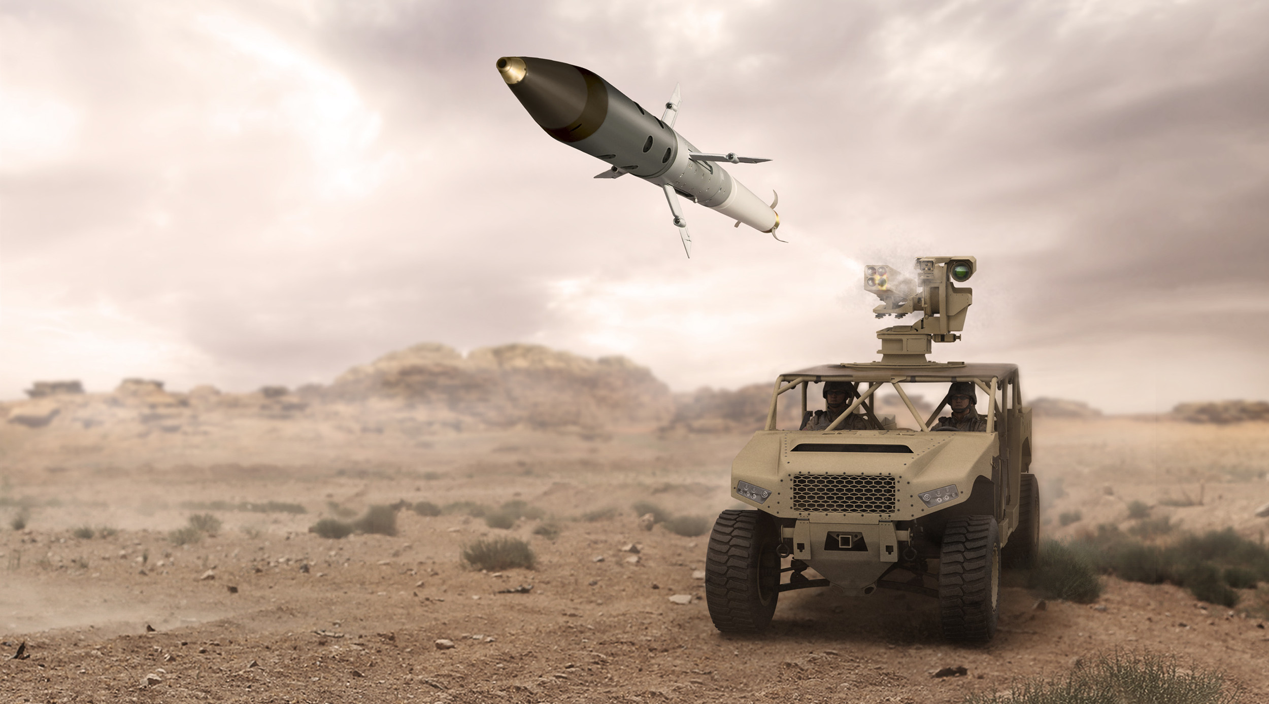 BAE Systems Succeeds in First Tactical Configuration Ground-Launched Test of APKWS Laser-Guided Rockets