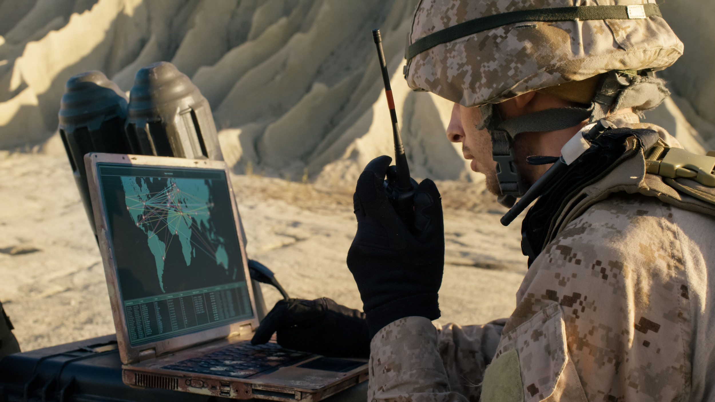 US, Allies Getting Larger Airborne Network  With New JTRS Radios