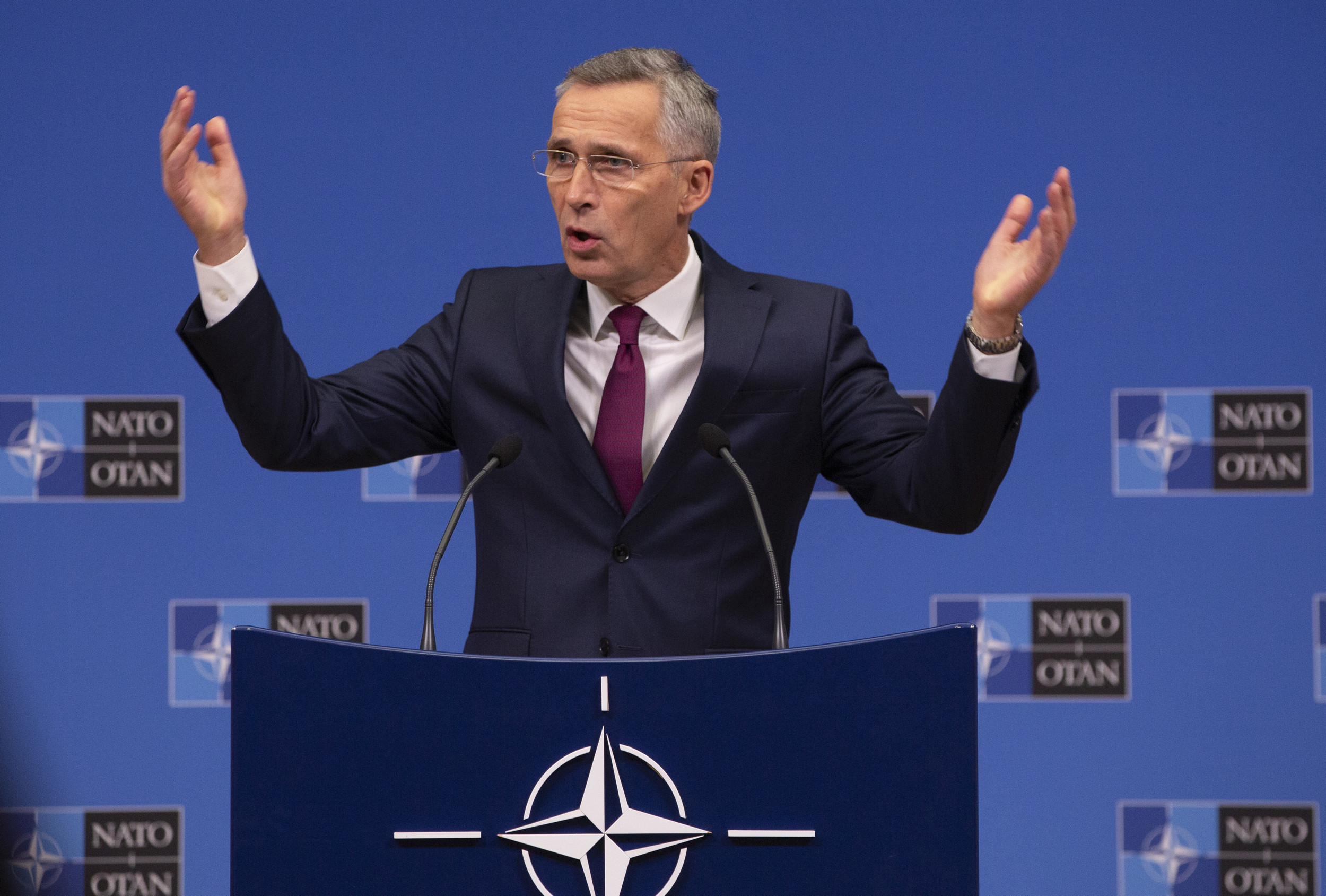 NATO Under Friendly Fire As Leaders Ready For London Summit