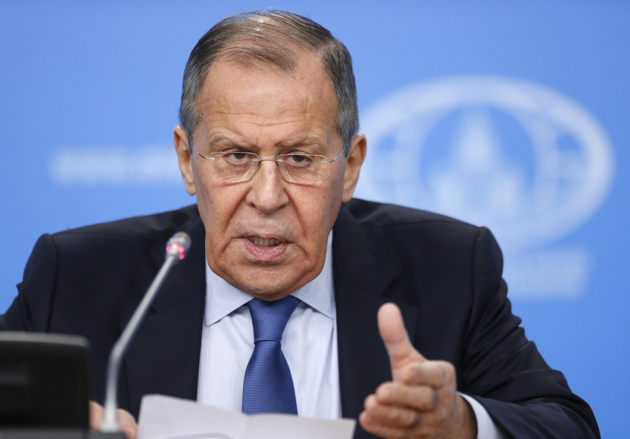 Russias Foreign Minister Slams 'Aggressive' US Policies
