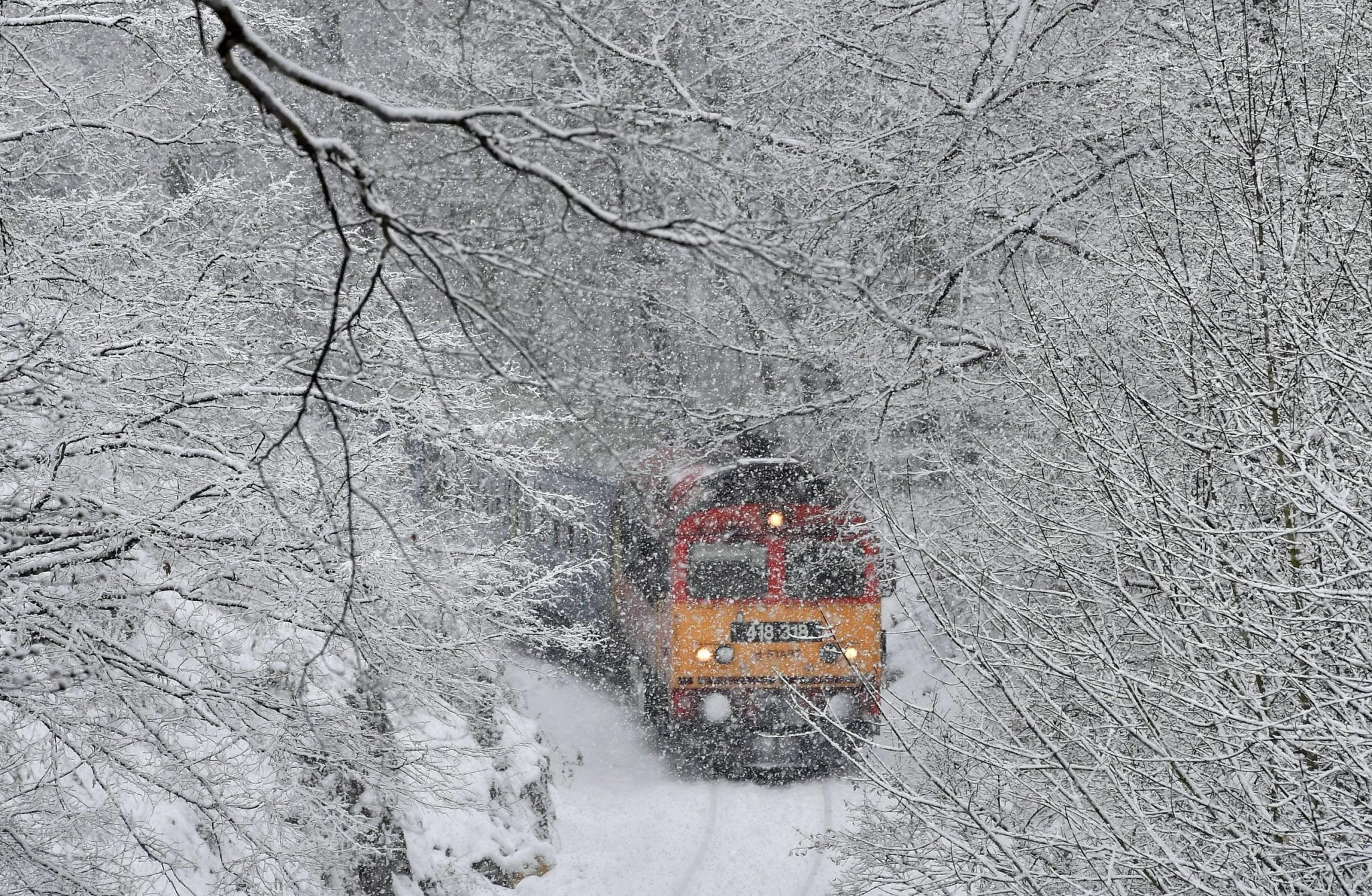 Winter Storm Blasts Europe; 13 Dead Amid Heavy Snow, Gusts