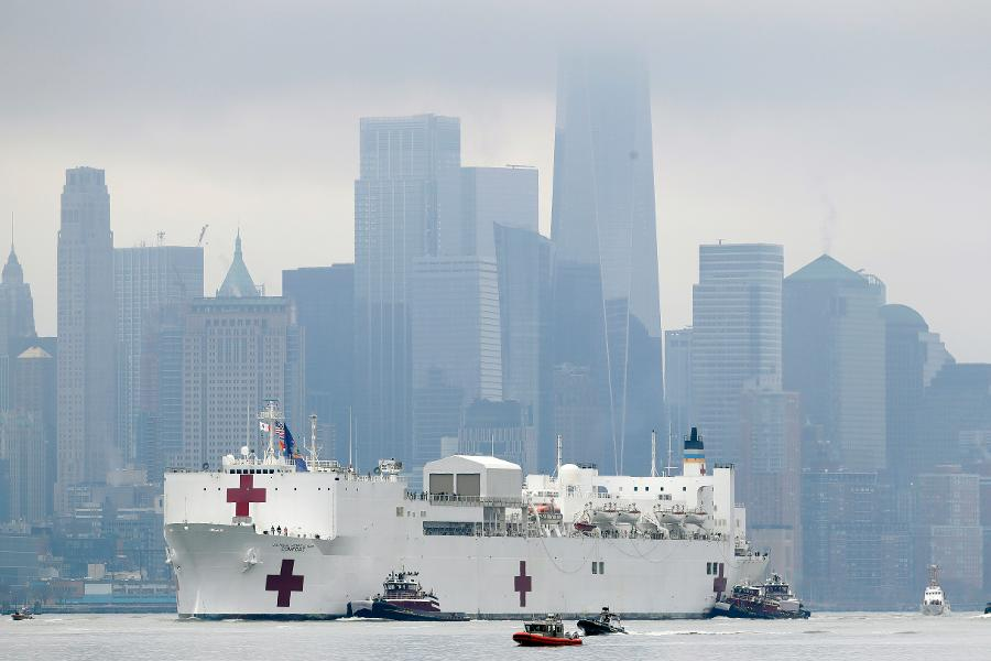 An Admiral From 100 Years Ago Warned Against Big Hospital Ships