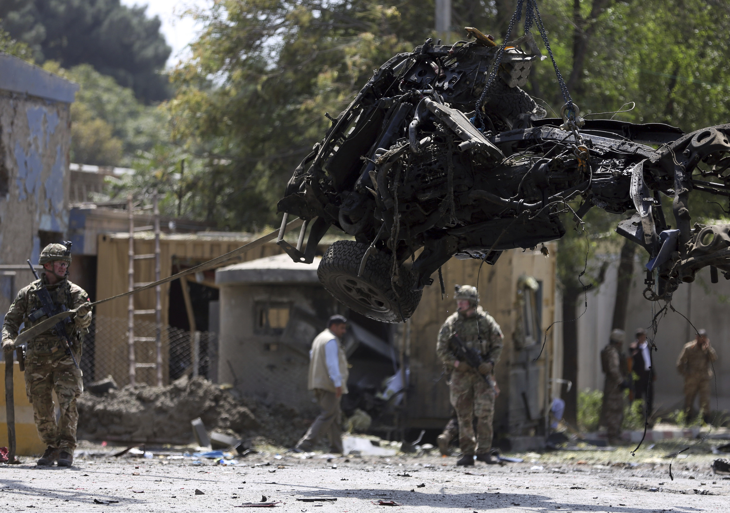 Kabul Attack Kills US, Romanian Soldier, 10 Afghan Civilians