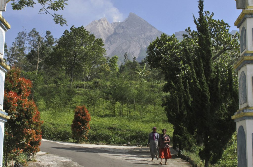 Evacuation begins as Indonesia's most active volcano rumbles