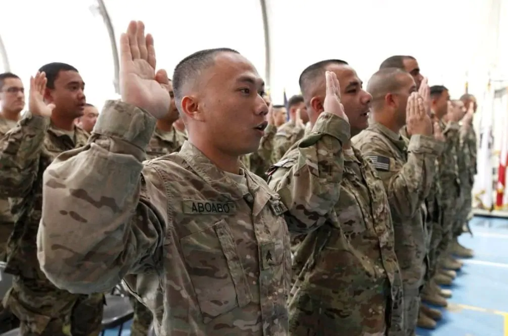 Hundreds of immigrant recruits risk 'death sentence' after Army bungles data, lawmaker says