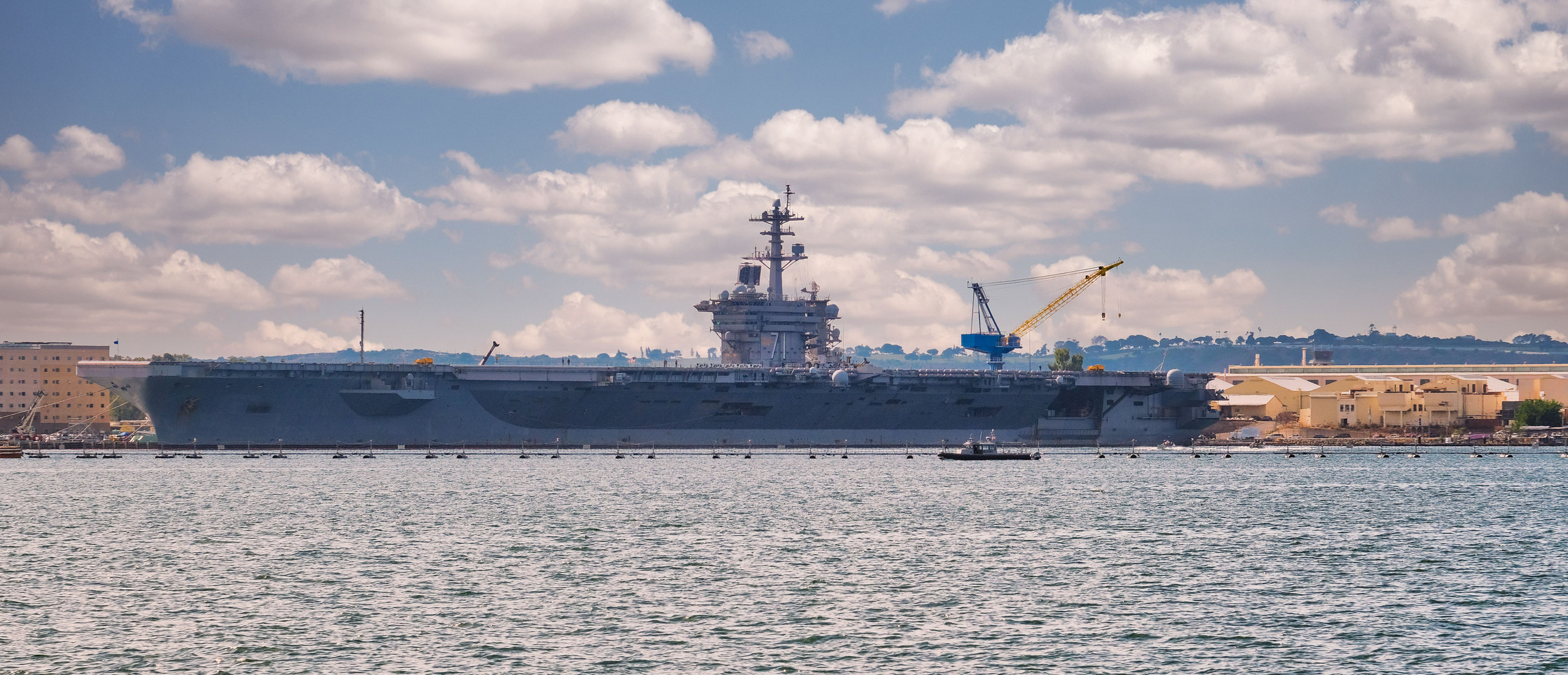 COVID-19 Claims Aircraft Carrier USS Roosevelt As Latest Victim