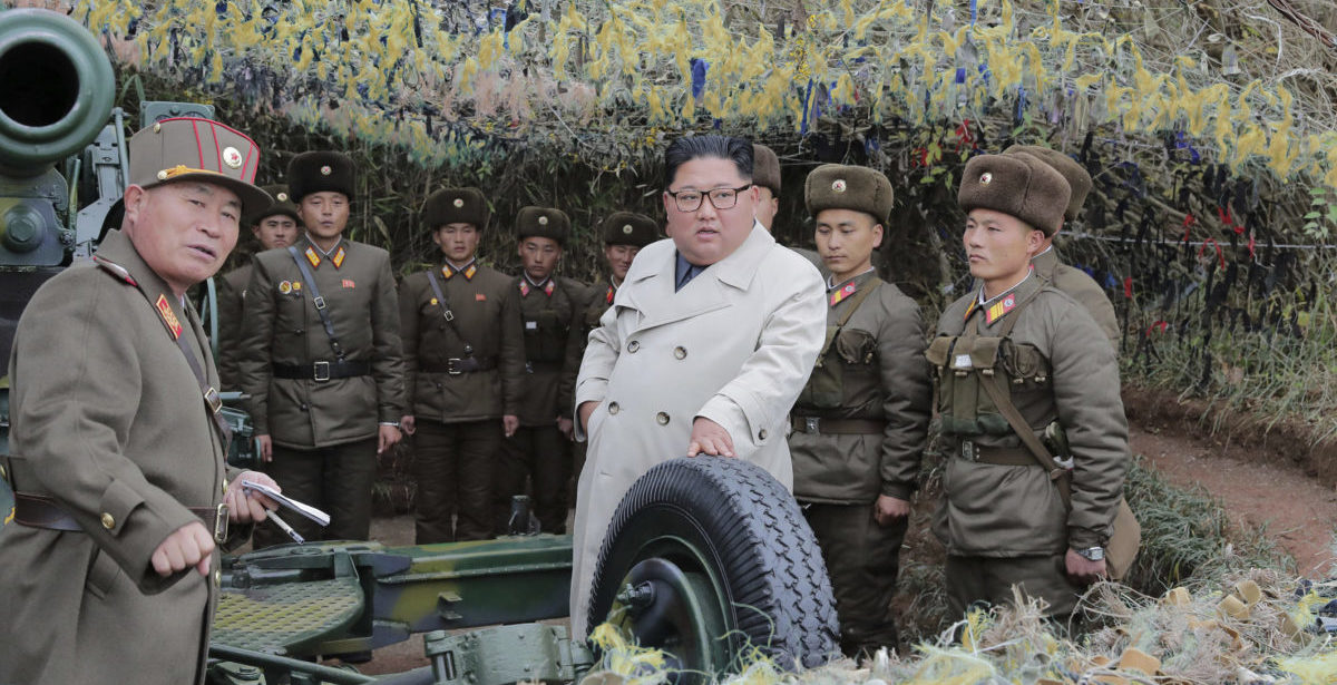 Seoul says North Korea has fired 2 short-range projectiles