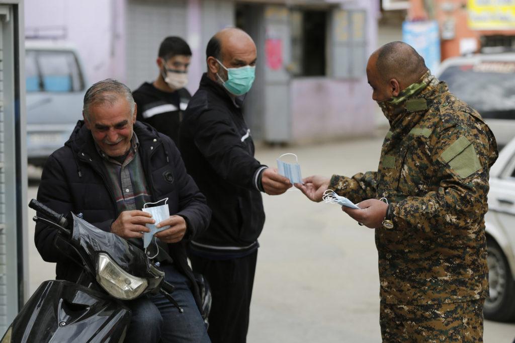 Lebanon Tightens Security Around Refugee Camp Over Virus