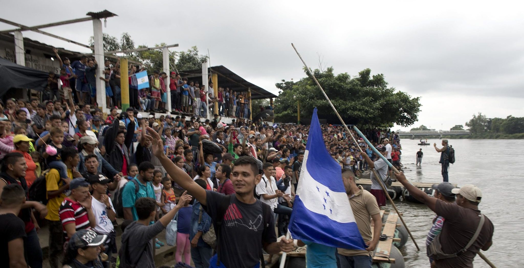 Here's What Happens When Migrant Caravan Arrives At U.S. Border