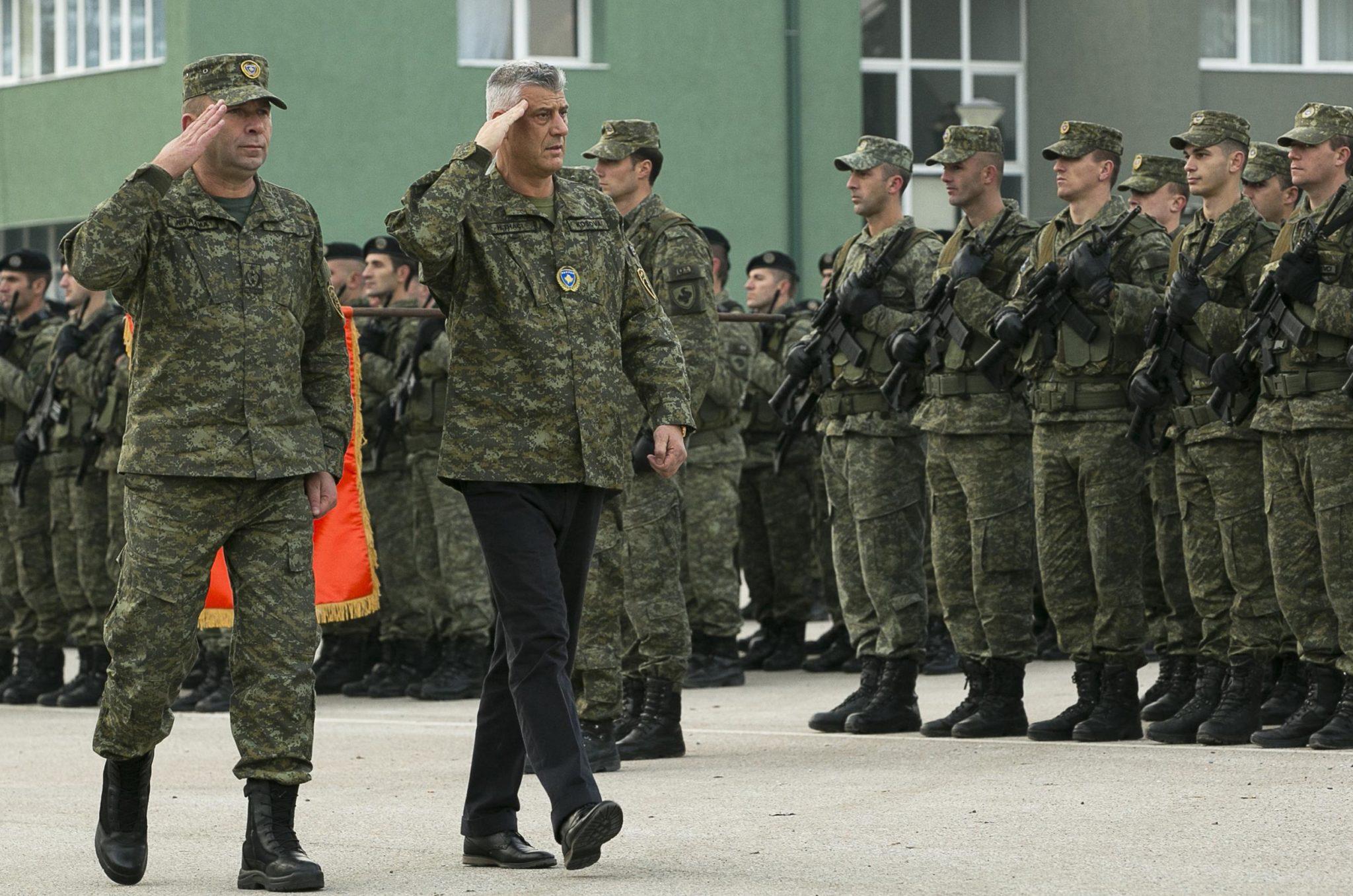 Serbia Talks Up Armed Intervention As Kosovo Okays New Army
