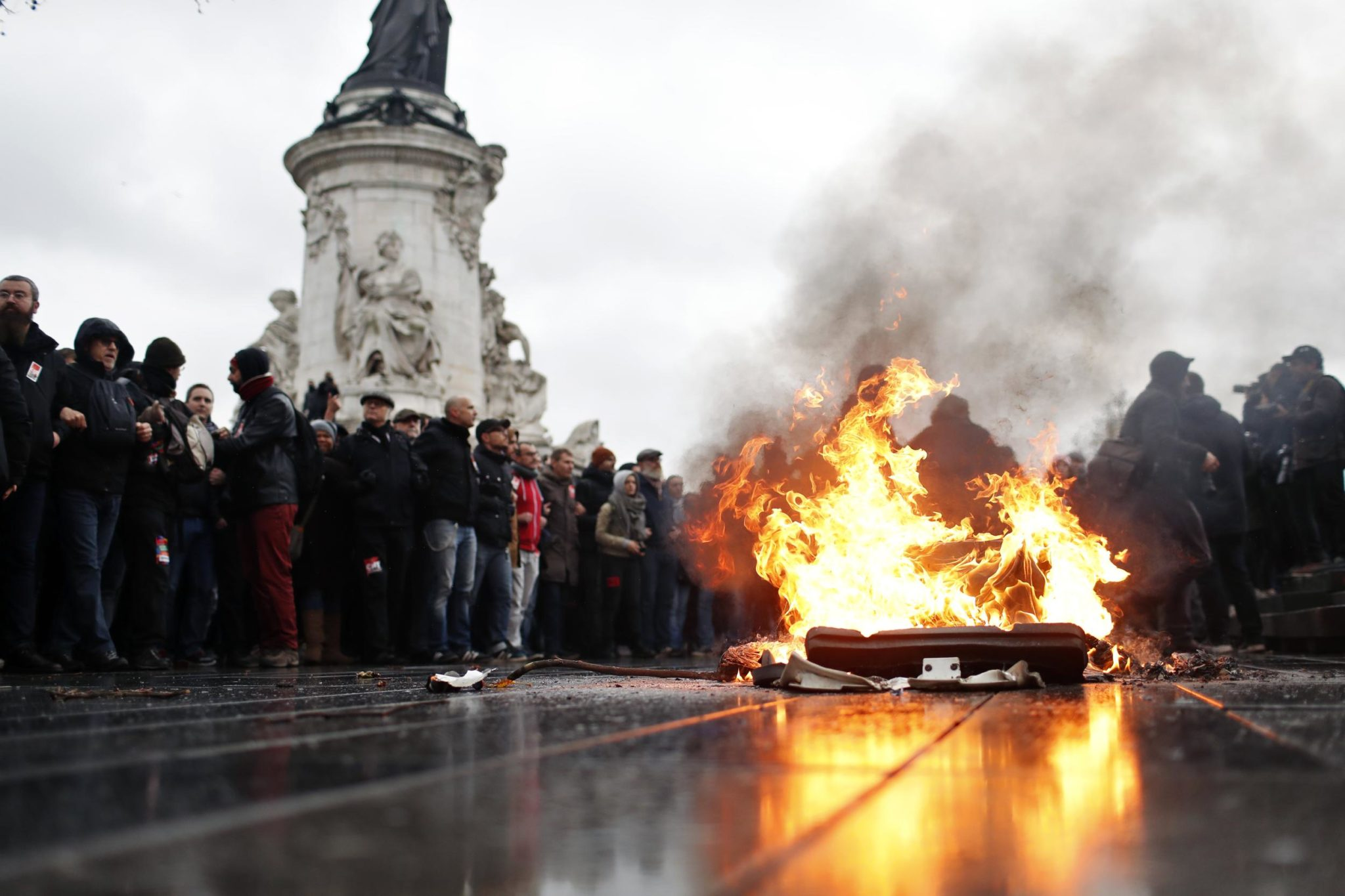 France Gears Up To Face New Riots; Paris Shuts Down