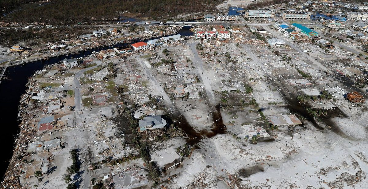 The cost of natural disasters this year: $155 billion
