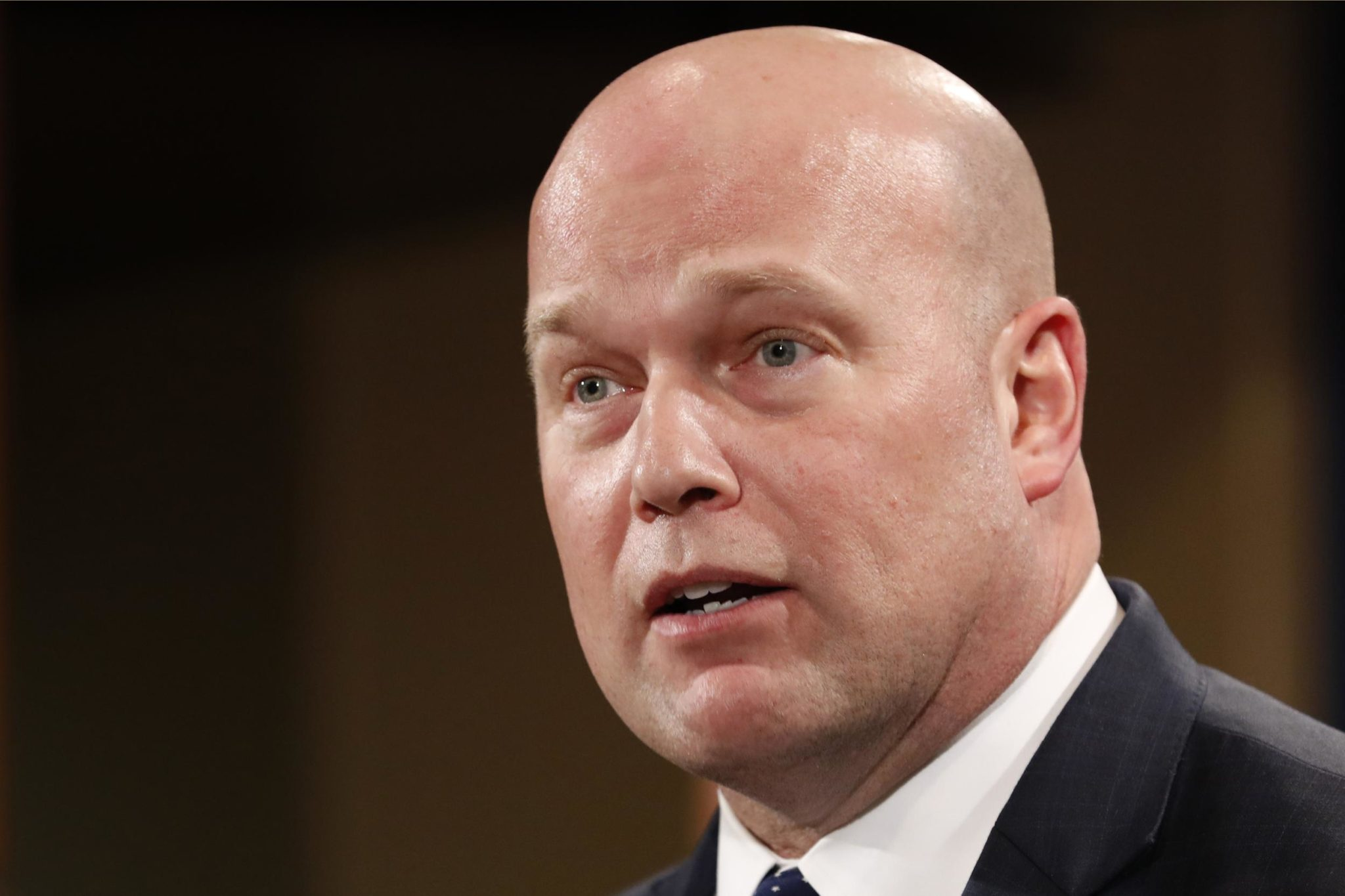DOJ's Whitaker says Russia probe 'close' to being completed