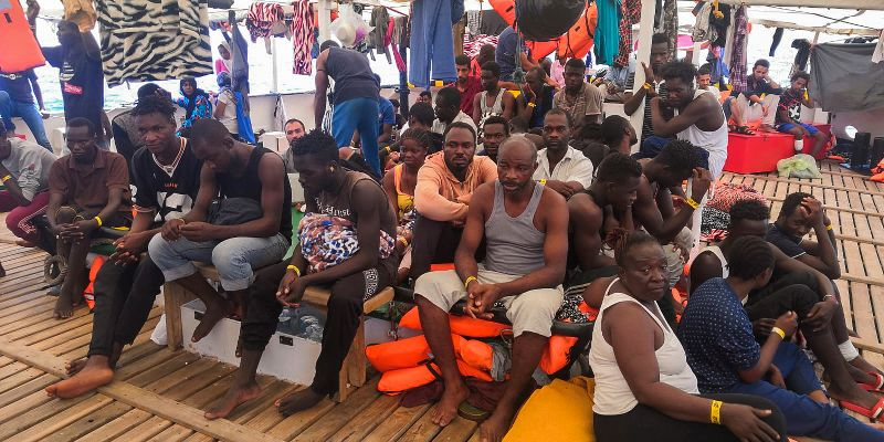 Rescue Ships Stranded In Med As Europe Fails To Respond