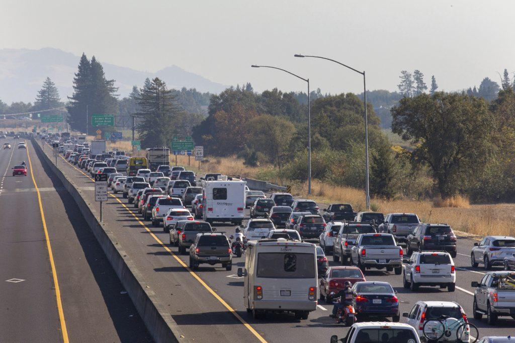Residents Flee, Power Cut As Crews Battle California Fire