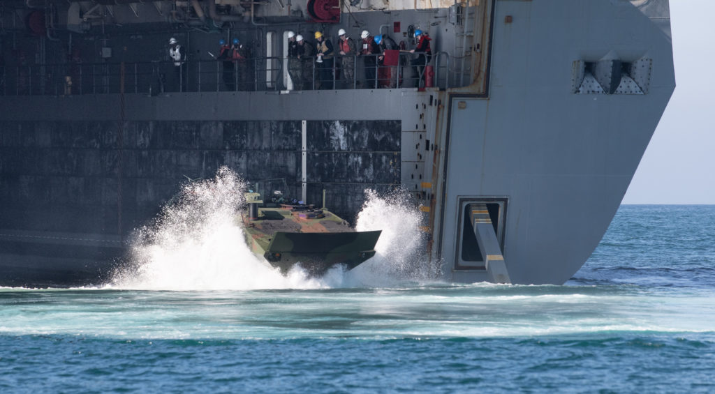 U.S. Marine Corps Orders More Amphibious Combat Vehicles from BAE Systems