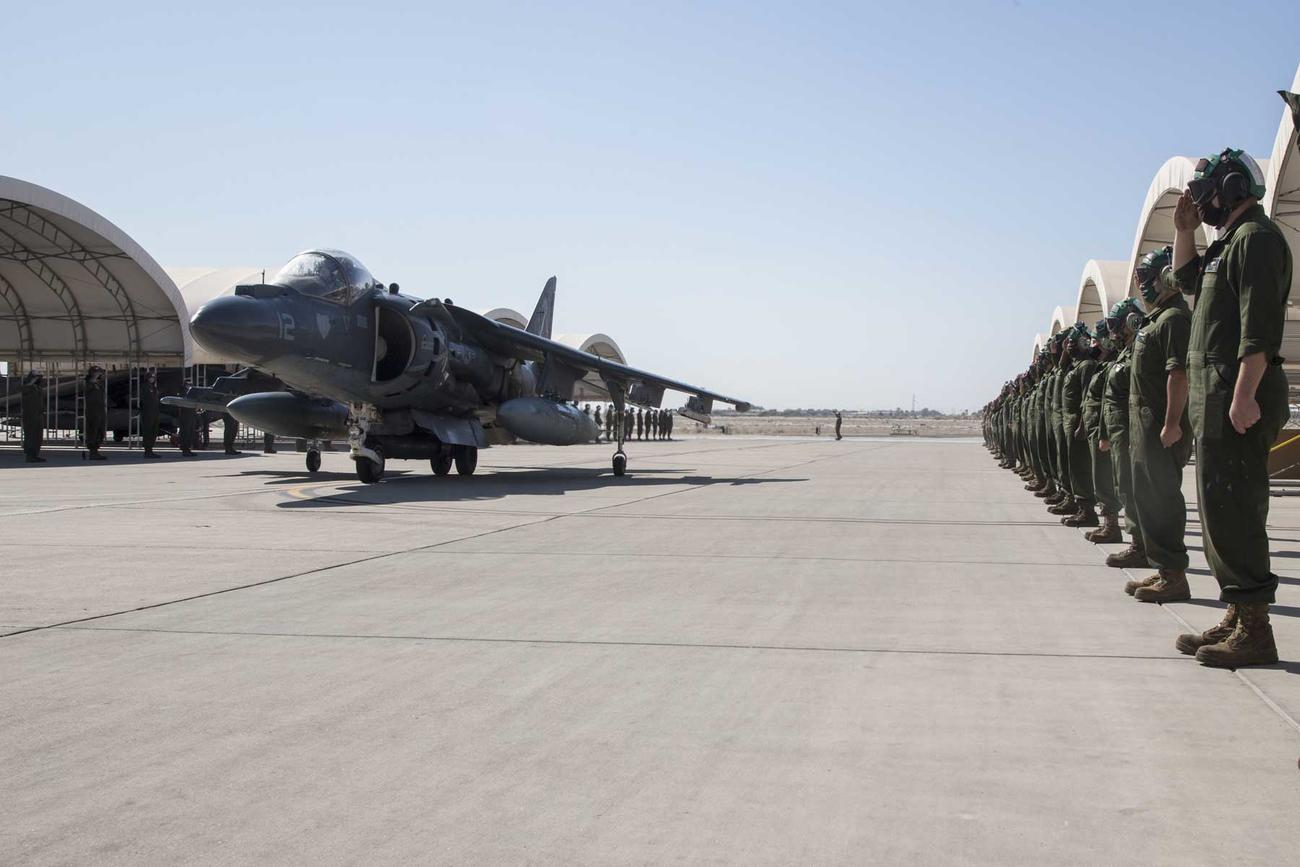 Marine Corps Marks End of Harrier Operations for Historic 'Tomcats' Squadron