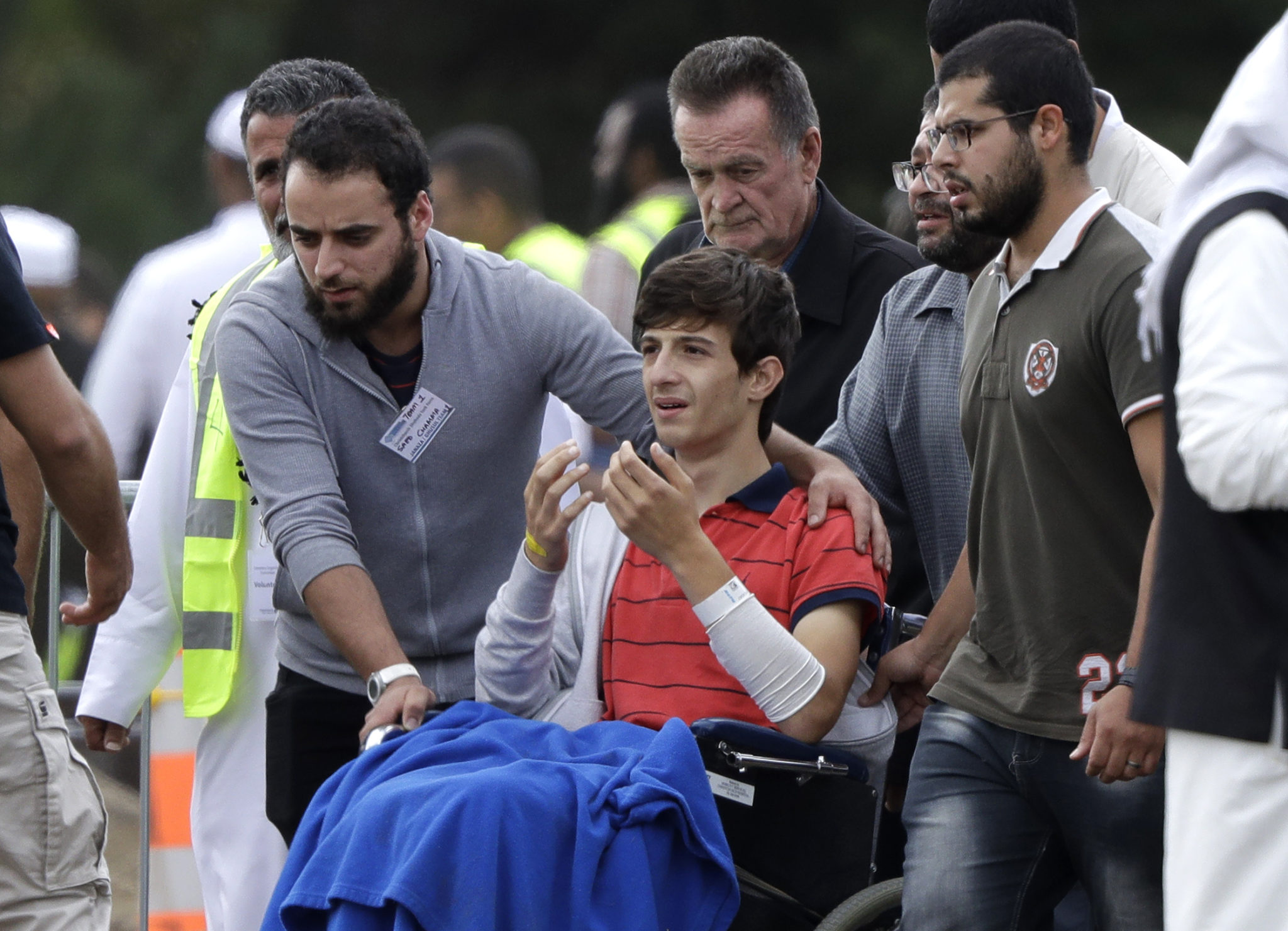 The Latest: Police Say Mosque Gunman Planned Another Attack