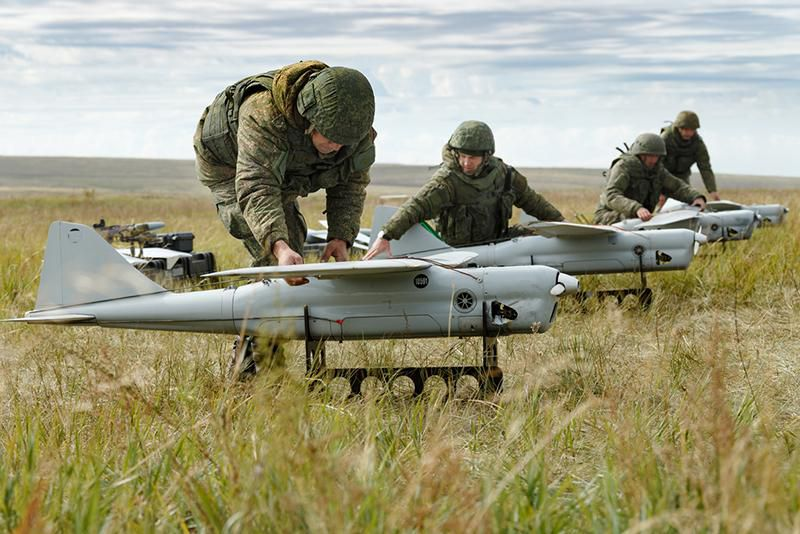 Russia Uses 'Swarm Of Drones' In Military Exercise For The First Time