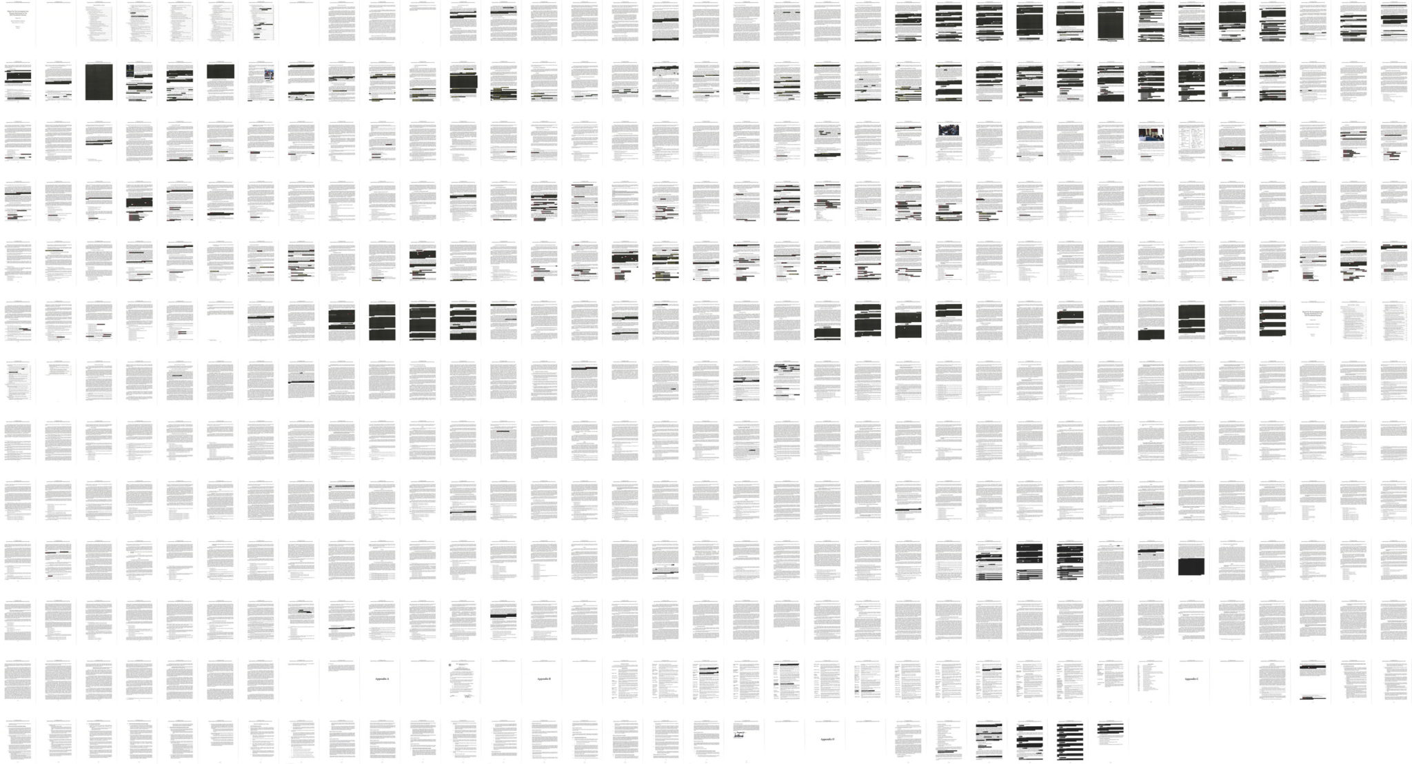 Redactions heavier on Russian meddling than on obstruction