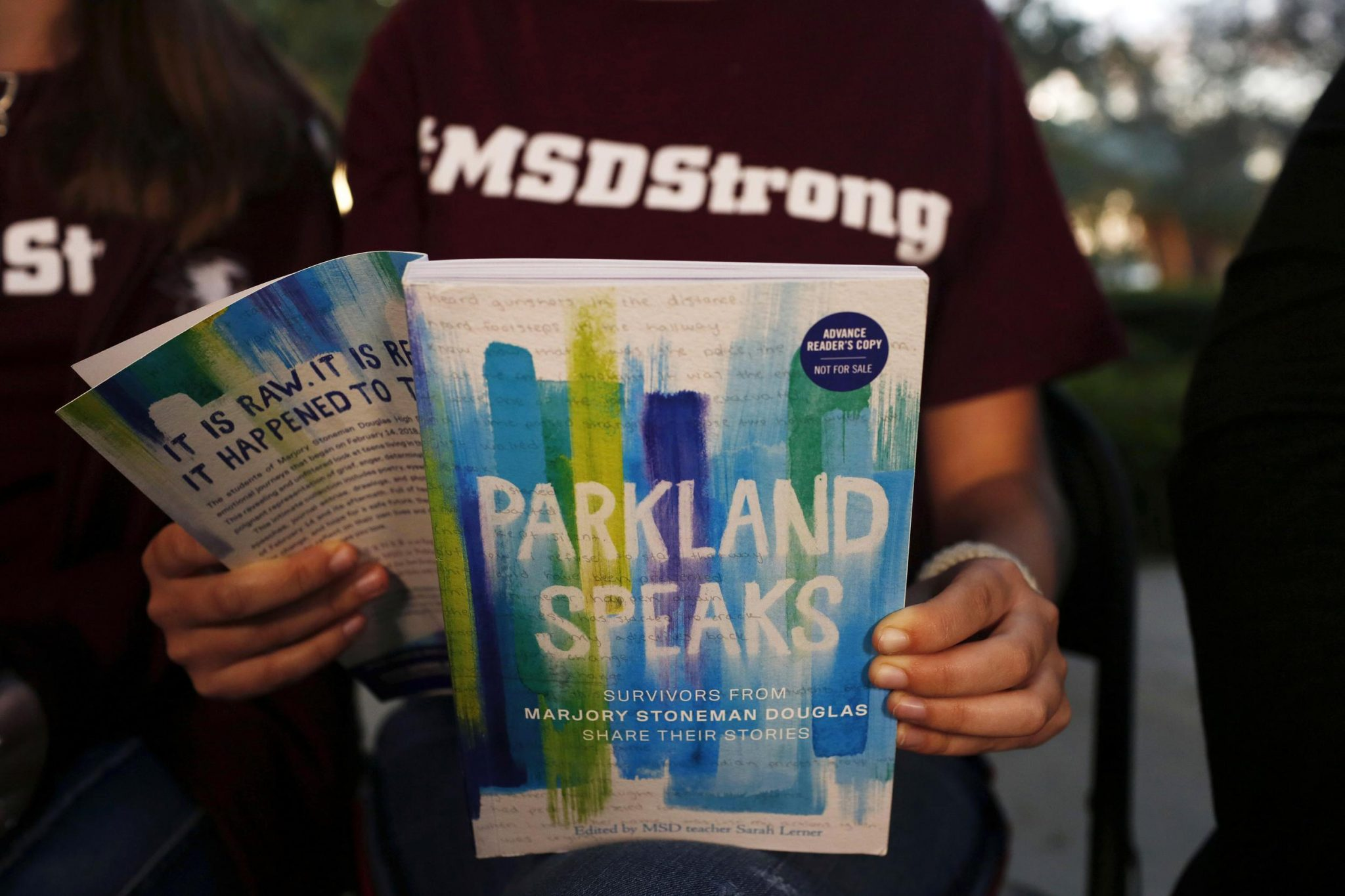 'I Still Weep': Parkland Survivors Write Book On Shooting