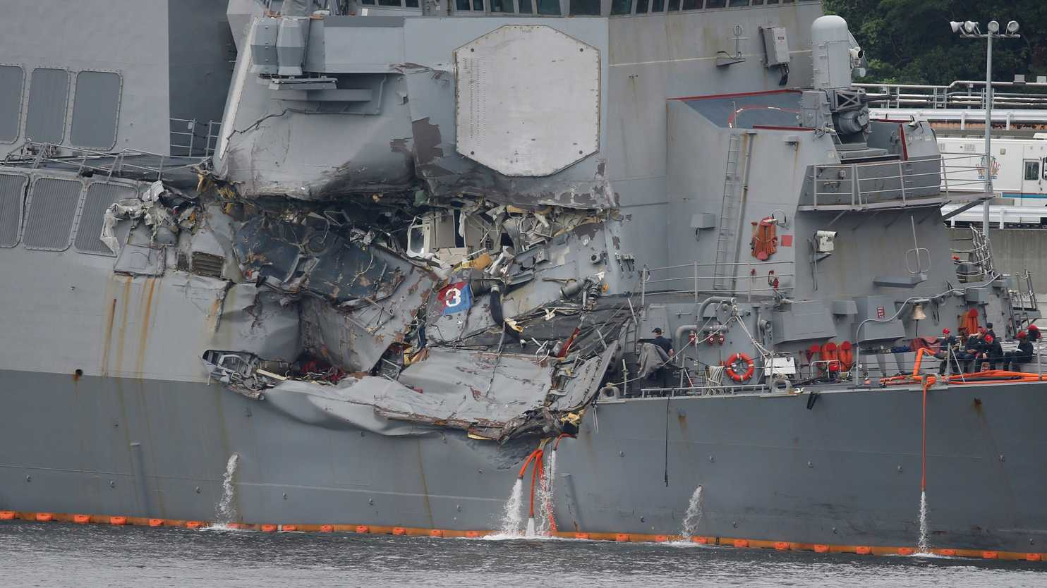 Admiral defends Navy after disasters at sea: 'Other ships weren't having collisions'