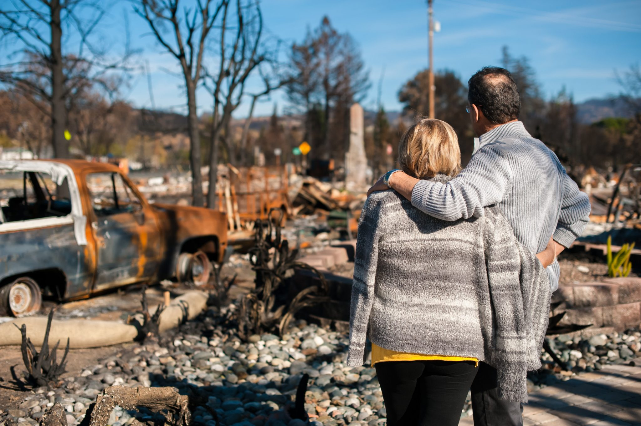 Travel trailers end a nomadic existence for some Camp Fire victims