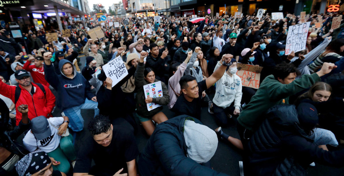 World's reaction to US weaves solidarity, calls to change
