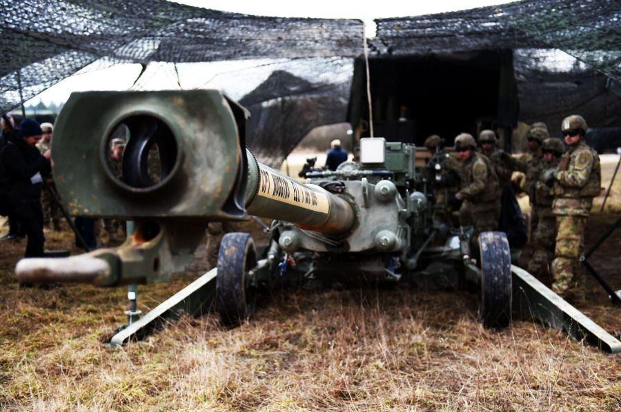 Europe's largest annual US-led artillery war games underway in Germany