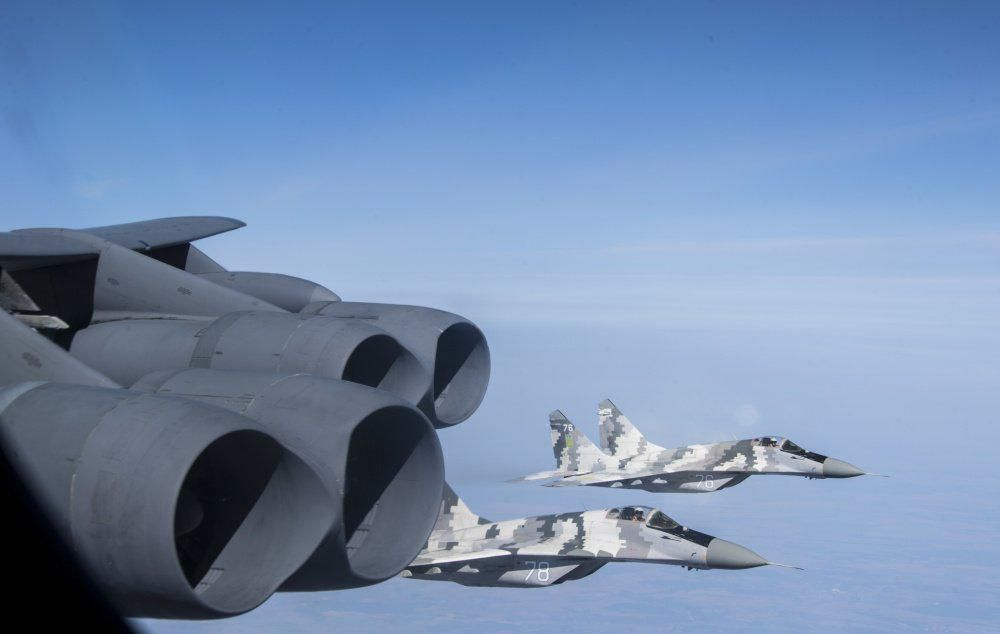 Five NATO Spy Planes Converge As U.S. Air Force B-52s Spring Their Biggest Intel Trap Yet