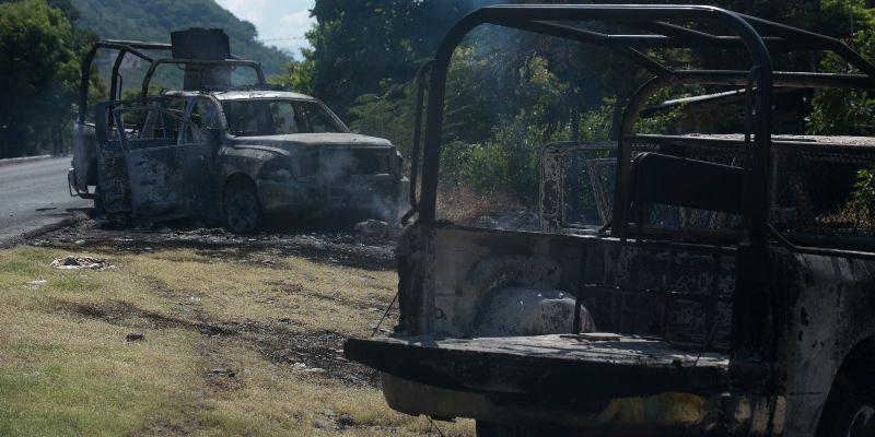 Gunmen Ambush Police Convoy In Mexico, Kill 13 and Wound 9