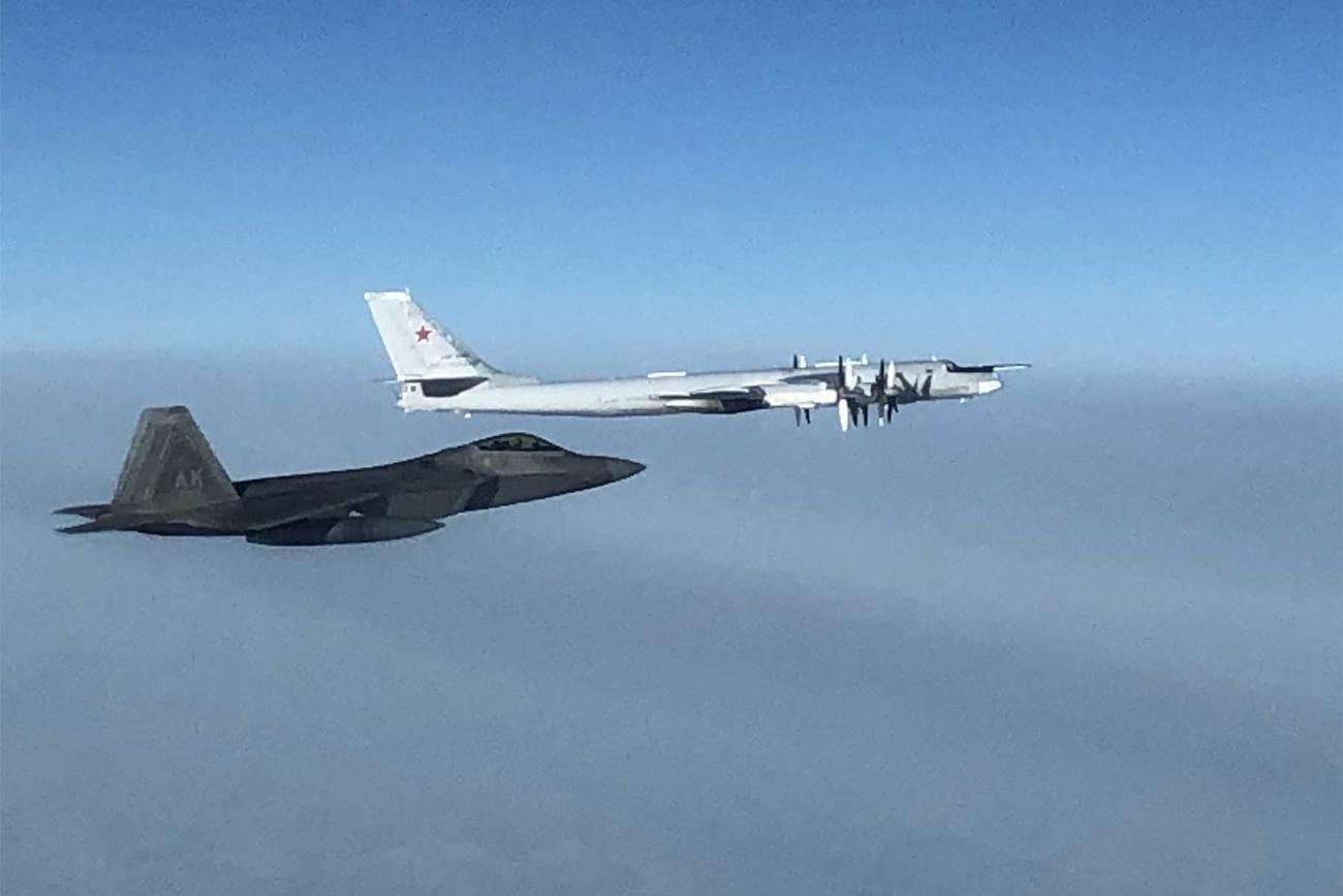 US and Russia Scramble Jets in Another Exchange of Aerial Intercepts