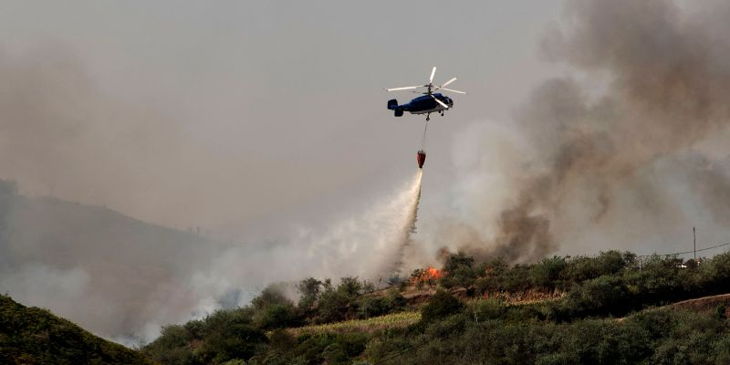 Thousands Flee From 'Monster' Wildfire On Canary Islands