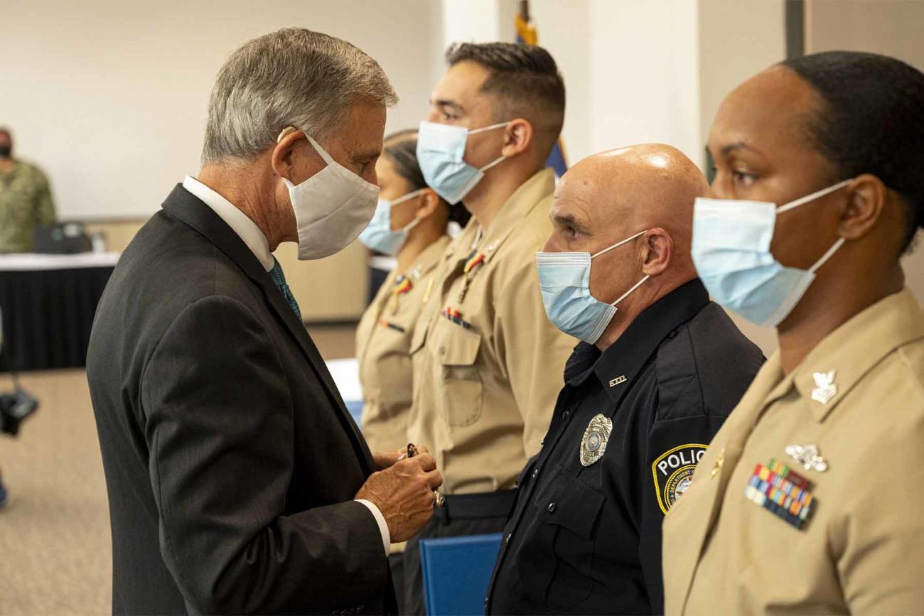 Sailors Who Risked Their Safety to Stop Corpus Christi Gunman Receive Awards