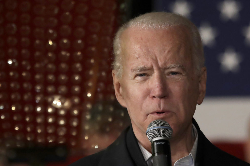 Biden Reaches For 'Comeback Kid' Mantle In New Hampshire