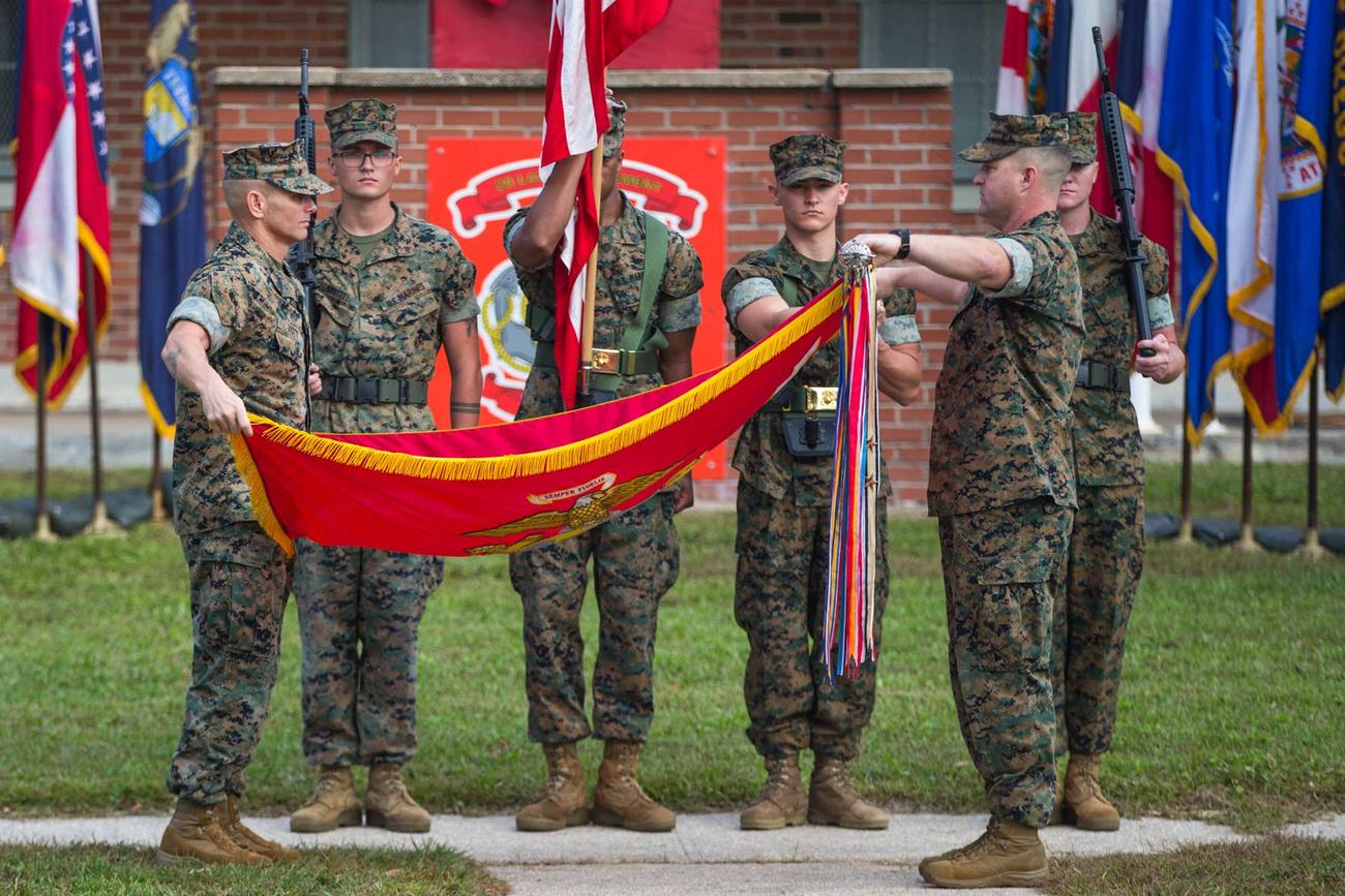 Marine Corps Law Enforcement Battalion Preps for Deactivation in Force Reshaping