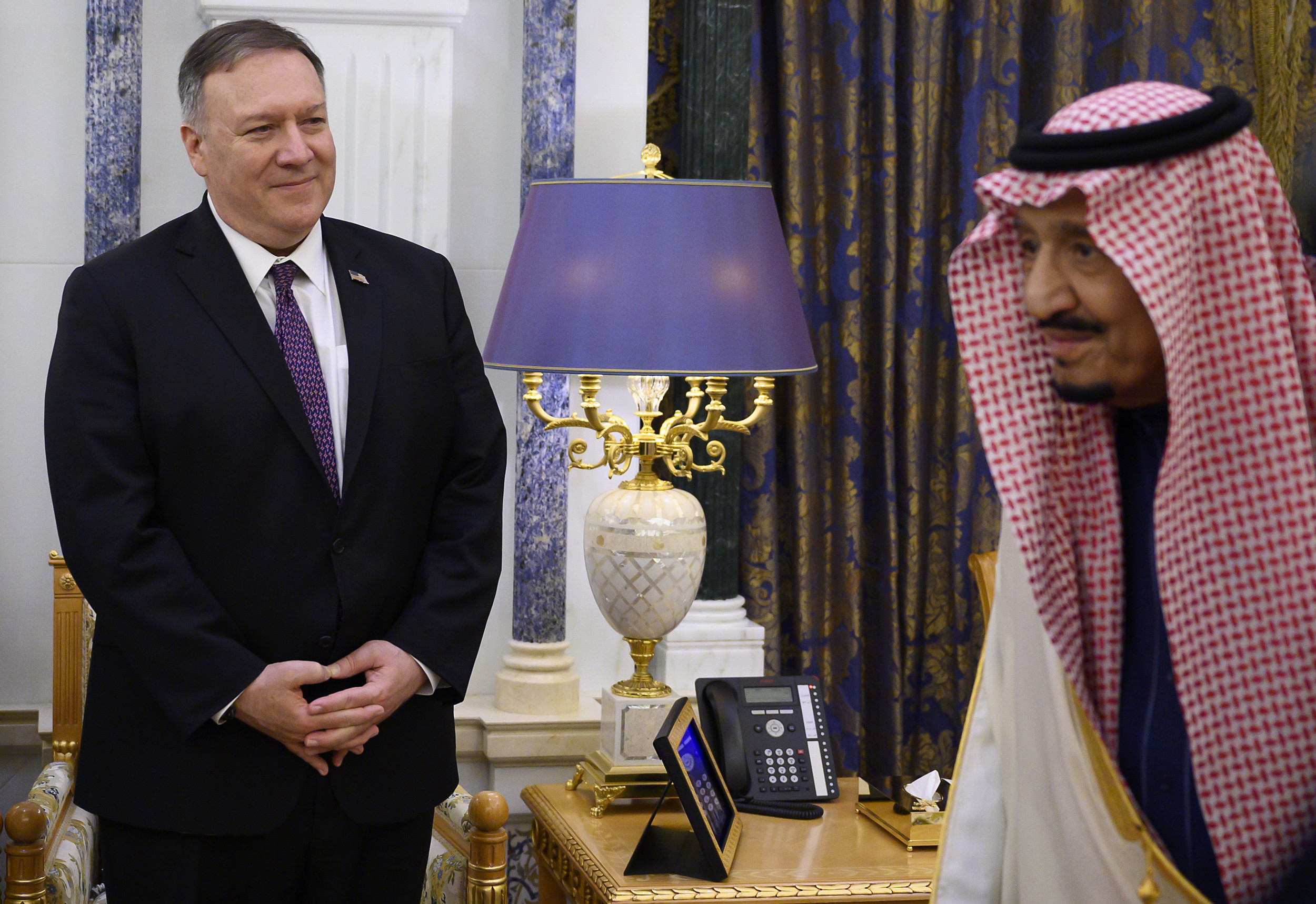 Pompeo in Saudi Arabia for visit focused on Iranian threats