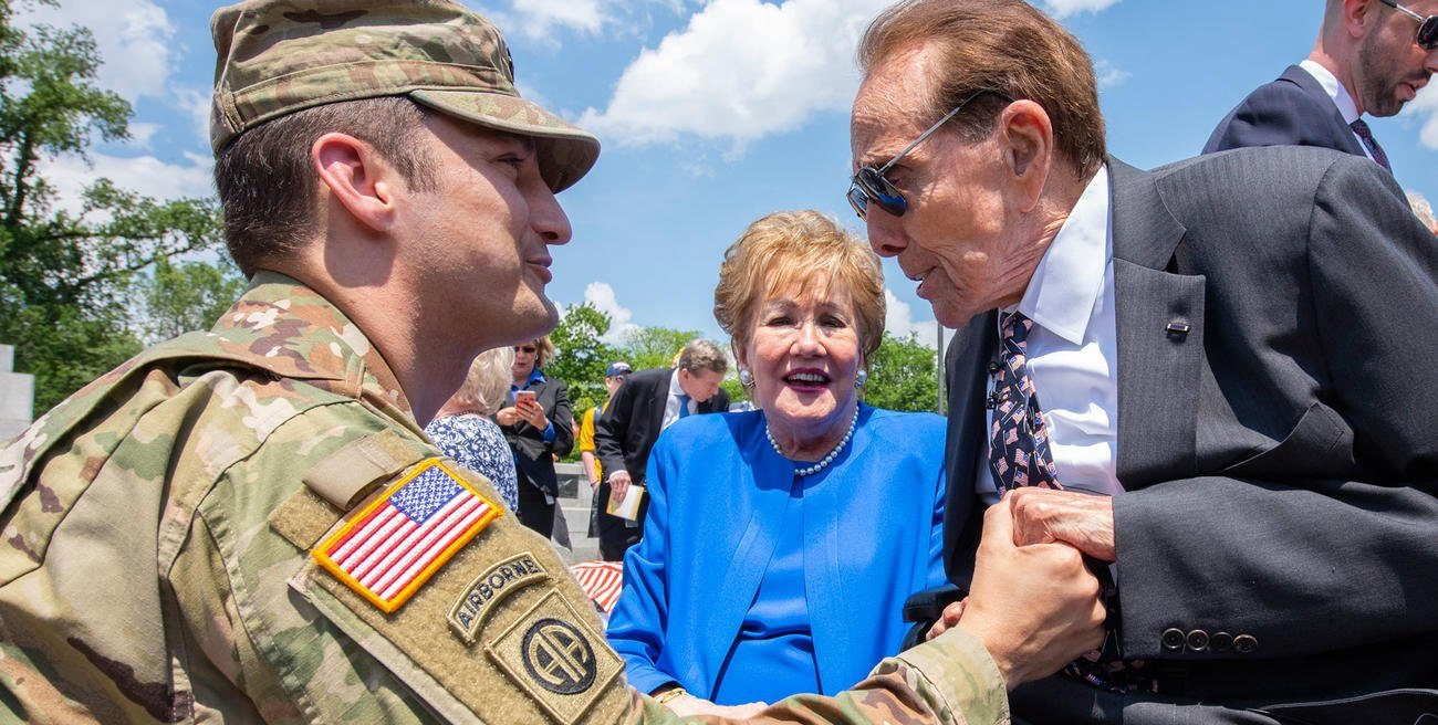 Bob Dole Marks WWII Anniversary with a Reflection on Sacrifice and Service