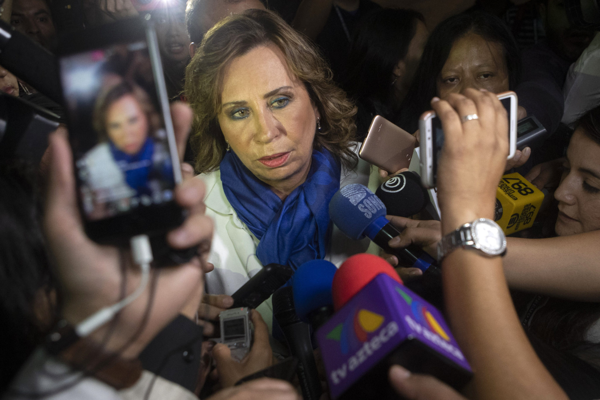Ex-First Lady Leads Guatemala President Vote; Runoff Likely