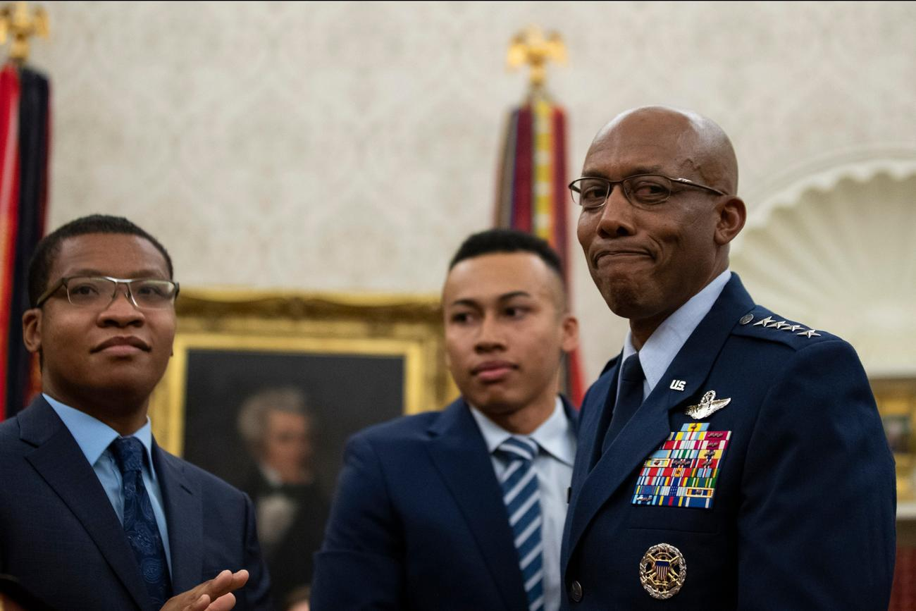 US Military Gets 1st Black Service Chief as Gen. 'CQ' Brown Takes Charge of Air Force
