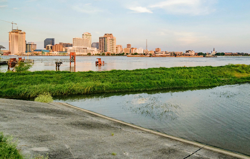 New Orleans's Levees Face A Hard Test As Storm Bears Down
