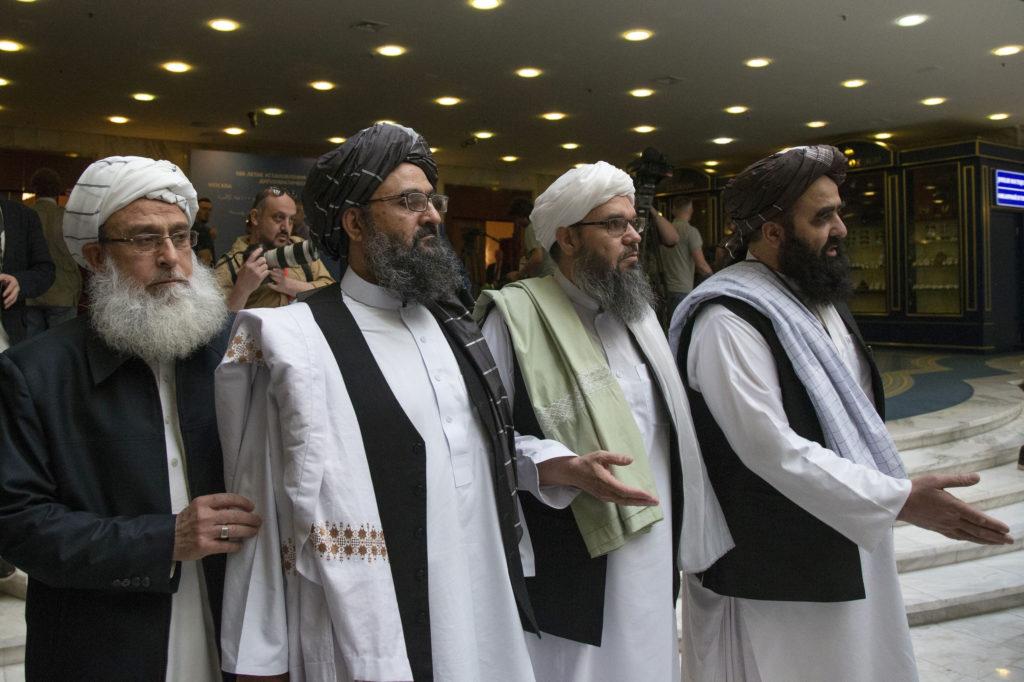 Taliban Negotiators Visit Pakistan To Talk Afghan Peace Push