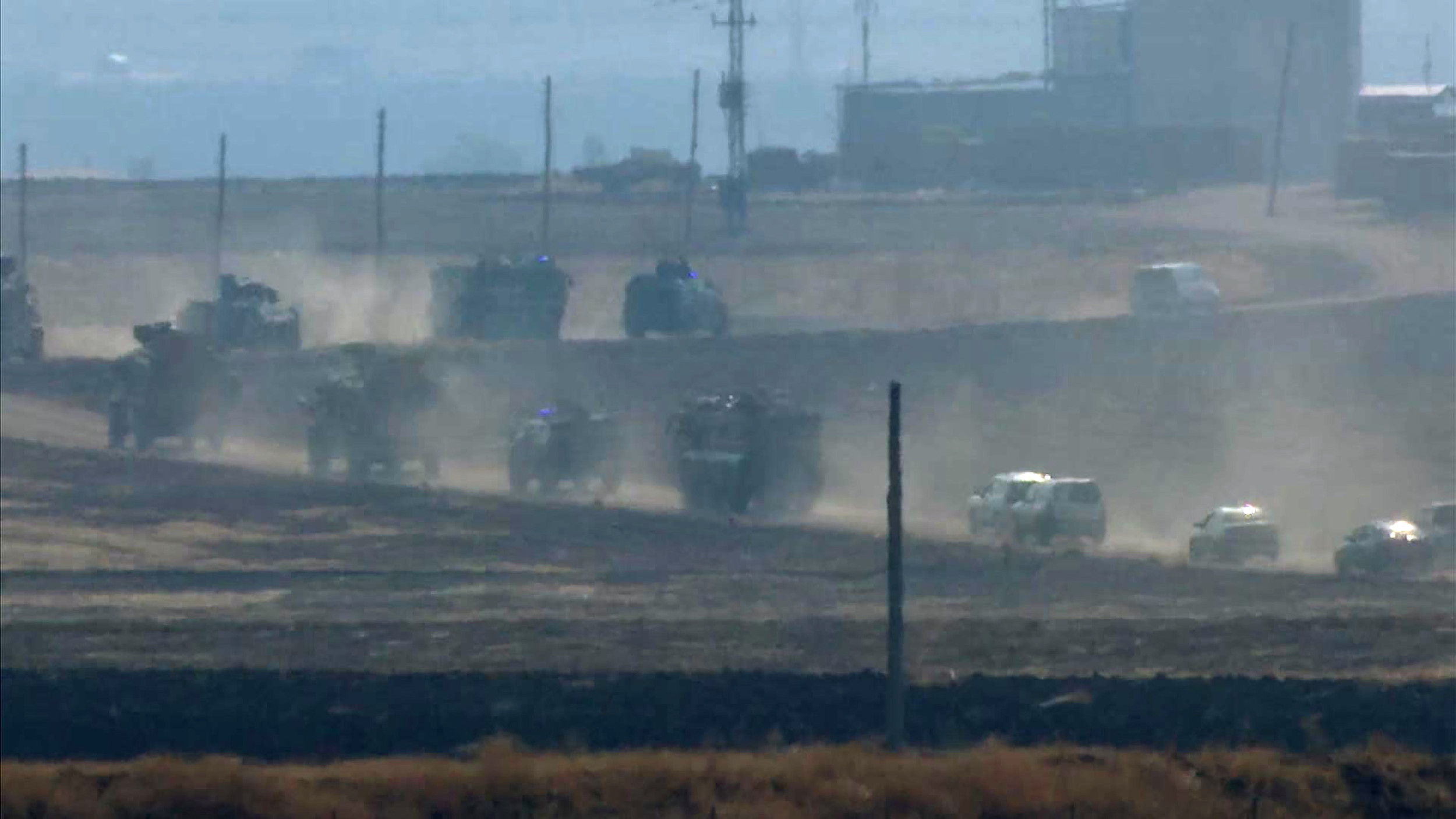 Joint Turkish and Russian Patrols Begin in Syrian Region