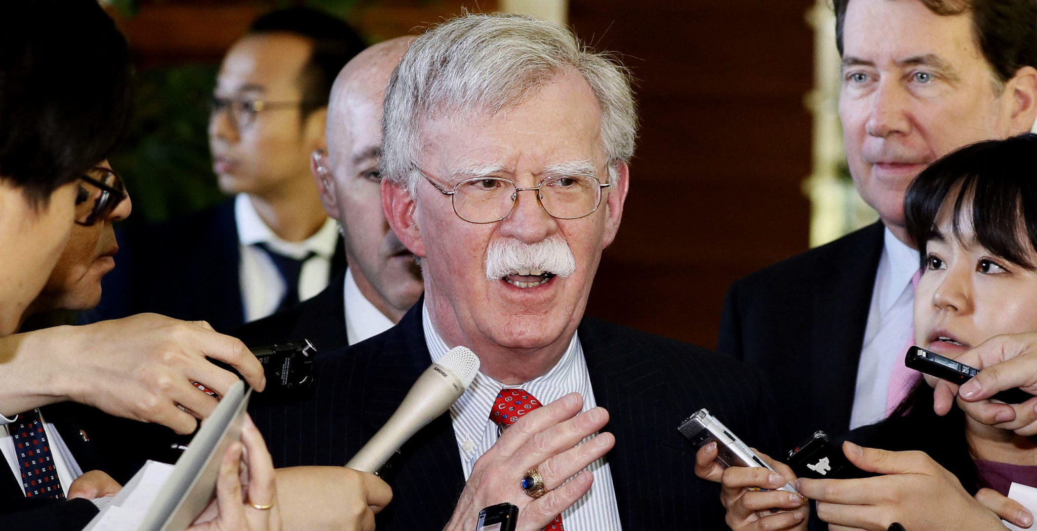 North Korea Calls Bolton 'Warmonger' Over Missile Comment