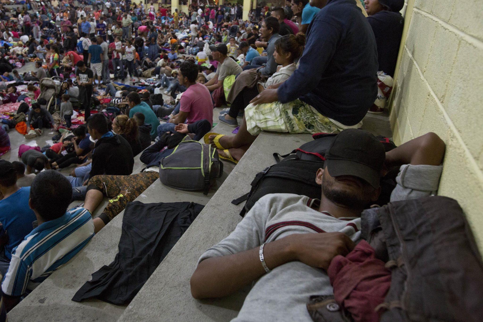 Migrants Moving Again In Guatemala Despite Trump Threats