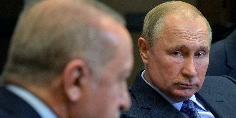 Russia, Turkey Leaders Hold Talks On Fate Of Syria Border