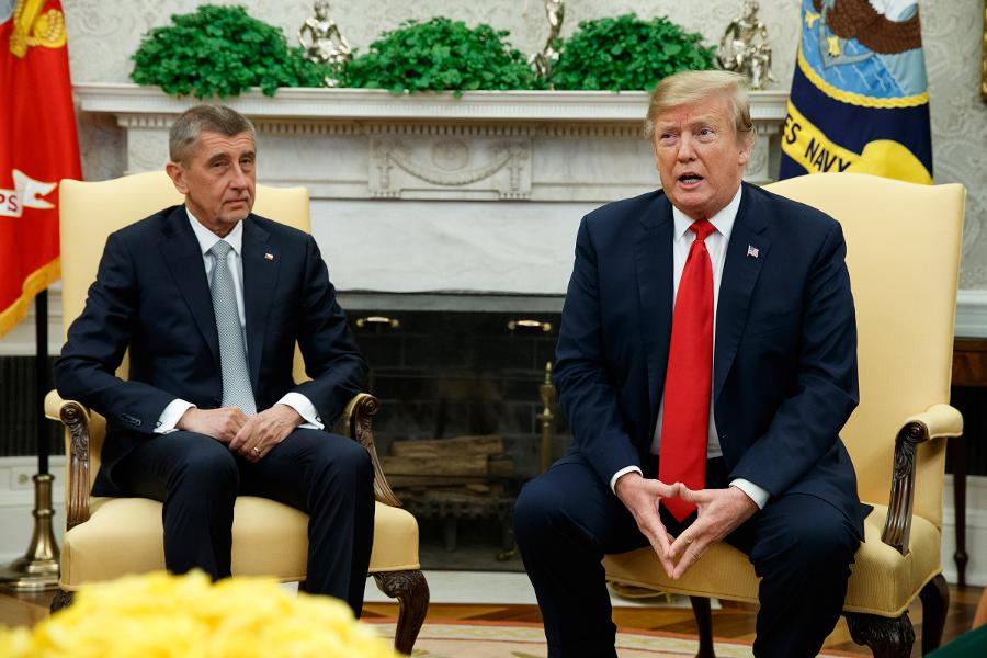 The 'Czech Donald Trump' Meets With Real Donald Trump in White House